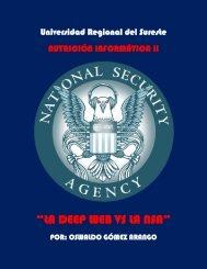 """""""LA DEEP WEB VS LA NSA"""""""
