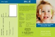 Pediatric Autorefractor plusoptiX A09 - Optimed