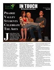 Summer Edition - 2011 - Prairie Valley School Division