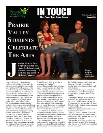Summer Edition - 2011 - Prairie Valley School Division