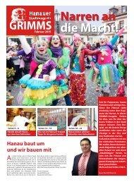 Hanauer Stadtmagazin GRIMMS - Februar 2015 - Narren an die Macht