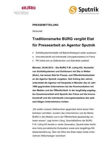 Pressemitteilung als Download - Sputnik