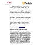 Pressemitteilung als Download - Sputnik - Page 2