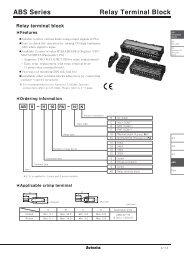 ABS Series Relay Terminal Block