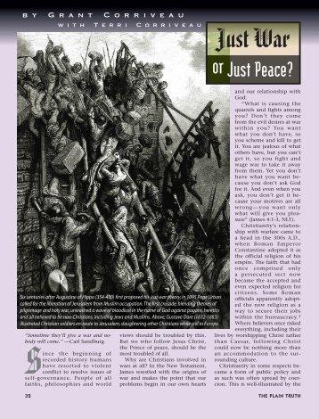 32-38 Just War:Master Galley - Plain Truth Ministries