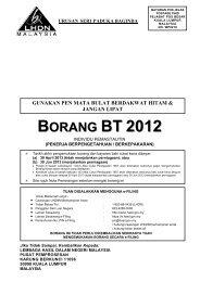 BT 2012 - Lembaga Hasil Dalam Negeri