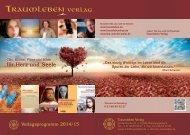 Traumleben Verlag - Katalog 2014