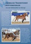 FOHLENAUKTION IN TRAUNSTEIN - Pferdezuchtverband ... - Seite 2