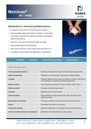 Metolose® MC / HPMC
