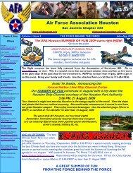 September, 2009 - Air Force Association