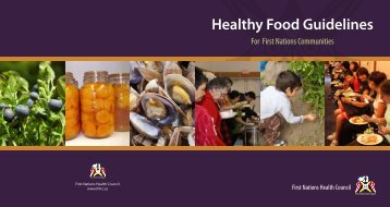 FNHC – Healthy Food Guidelines for First Nations Communities