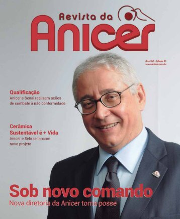 Faça o download do pdf da Revista 81 aqui - Anicer