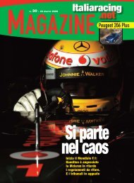 I team F.1 2009 - Italiaracing