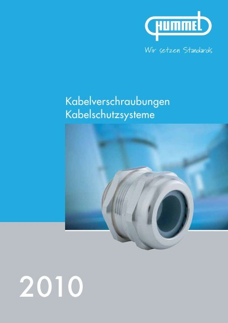 HSK Kabelverschraubungen für spezielle ... - Hummel AG