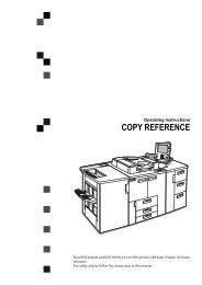 Copy Reference Part 1 - Savin
