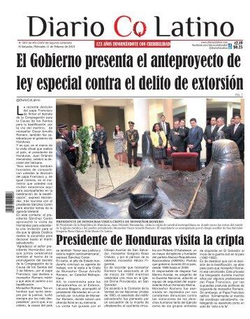Edición 11 de Febrero de 2015