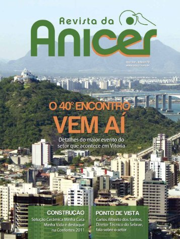 Faça o download do pdf da Revista 70 aqui - Anicer