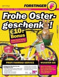 WUSSTEN SIE PROFI FAHRRAD SERVICE - Forstinger