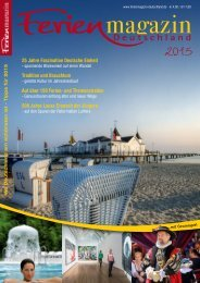 Ferienmagazin Deutschland 2015