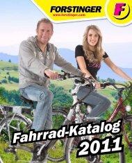 Fahrrad-Katalog - Forstinger