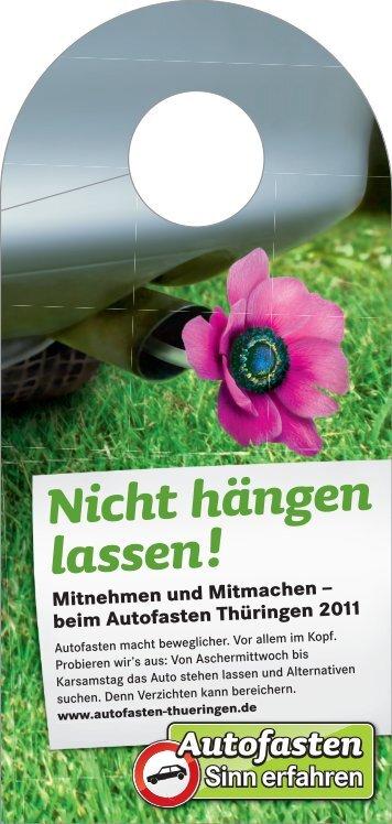 Nicht hängen lassen! - Bus & Bahn Thüringen