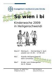 So wien i bi - EMK Thun / Heiligenschwendi
