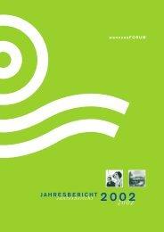 Jahresbericht 2002 - wannseeFORUM