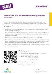Inhalte und aktuelle Termine des EWPP ... - centrestage.de