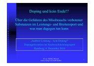 Problem - Hamburger Sportbund e.V.