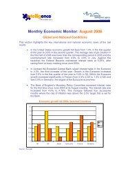 Monthly Economic Monitor: August 2006 - Emita