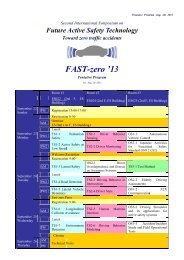 F FAST T-zer ro '13 3 - FAST-zero '13