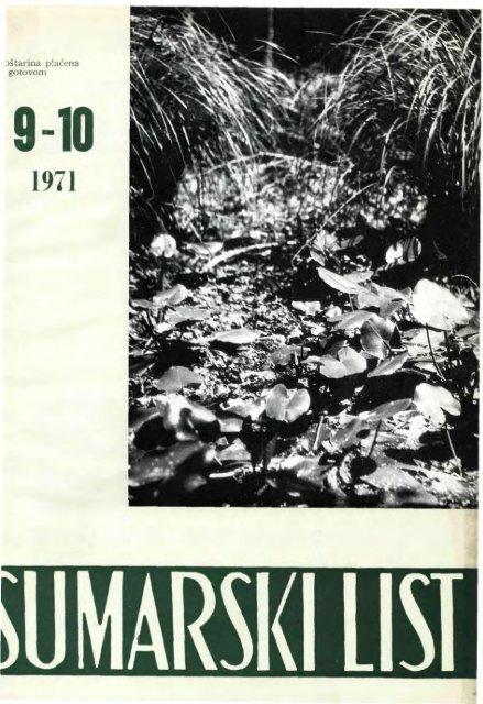 ÅUMARSKI LIST 9-10/1971