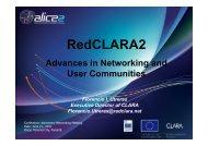 RedCLARA2, Status Report June 2011, TICAL 2011
