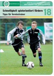 18 - Schnelligkeit spielorientiert fördern - FV Griesheim