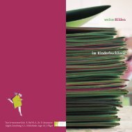 weiterBilden_Katalog_2012 - Hamburger Kinderbuchhaus