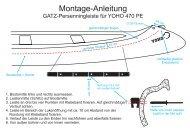 Montage-Anleitung für Persenningleisten an ... - Mohawk 490 PE.
