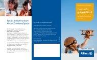 Details zur Allianz Kinder-Unfallversicherung