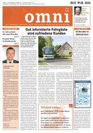 Gut informierte Fahrgäste sind zufriedene Kunden - Bus & Bahn ...