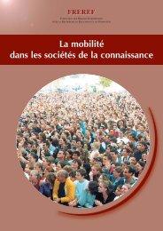 La mobilité dans les sociétés de la connaissance - Freref