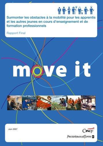 Surmonter les obstacles à la mobilité pour les apprentis et ... - Freref