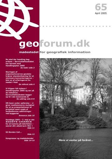 65 geoforum.dk - GeoForum Danmark