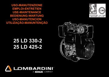 25 LD 330-2 25 LD 425-2 - lombardini service