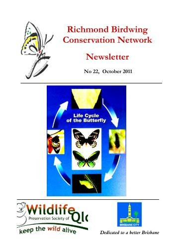 Richmond Birdwing Conservation Network Newsletter