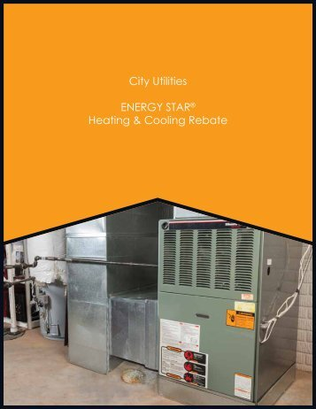 ENERGY STAR® Central Air Conditioner Rebate - City Utilities