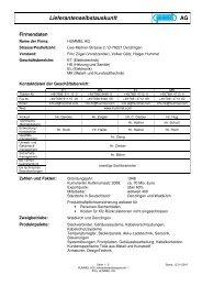 HUMMEL AG Lieferantenselbstauskunft -1