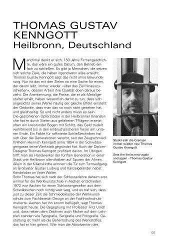 Jahrbuch, Metall Design, 2003 International - Gustav Kenngott