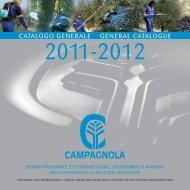 CATALOGO GENERALE GENERAL CATALOGUE