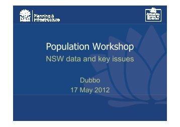 Dept of Planning & Infrastructure Presentation - Regional ...