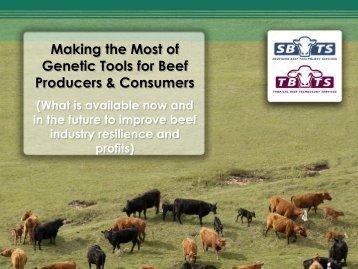 John Bertram Northern Beef Technology (Genetic Tools) presentation