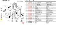 soundproof std plates - 30 (from sn 130852) - bei Hydraulik Paule